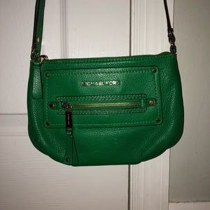 women s michael kors palm green handbag on poshmark rh poshmark com